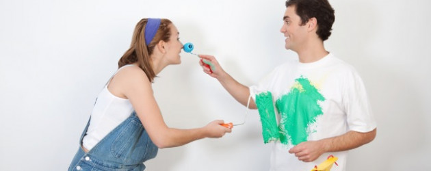 Männer flirten necken