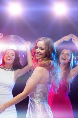Wie flirten frauen in der disco