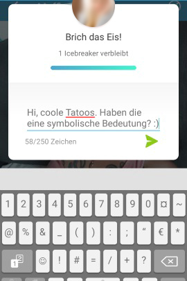 App wie tinder unable to connect