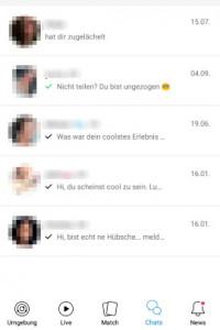Lovoo: Chat oder Match weg? Tu das, wenn sie verschwunden ist!