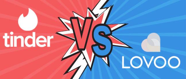 Vergleich Tinder vs Lovoo im Duell