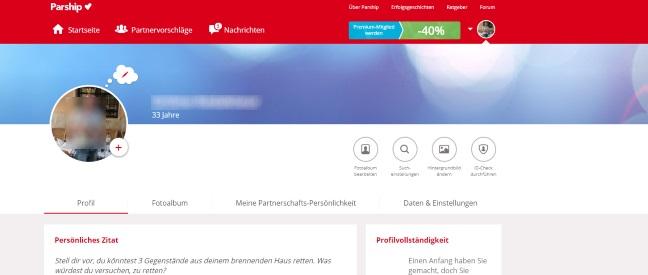 Parship Lösche Mein Profil