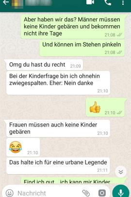 Frauen kennenlernen whatsapp