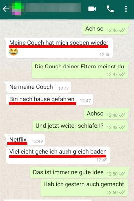 flirten whatsapp mit mann beispiele)