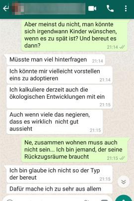 flirten whatsapp beispiele)