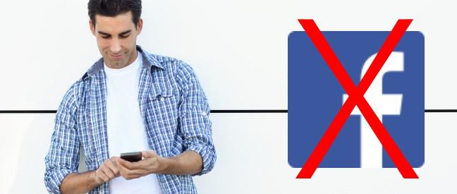 Mann will Tinder ohne Facebook nutzen