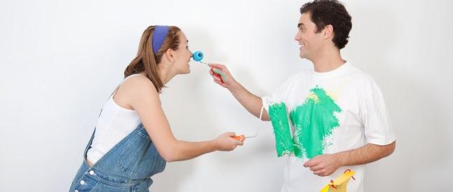 Frau flirtet mit meinem mann