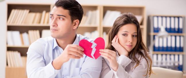 Paar beschließt Trennung